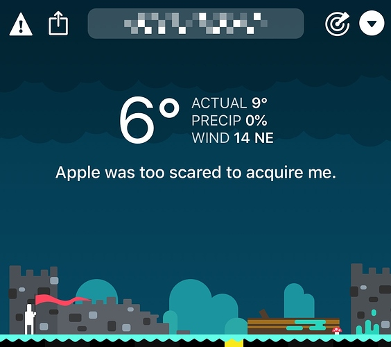 Apple was too scared to acquire me