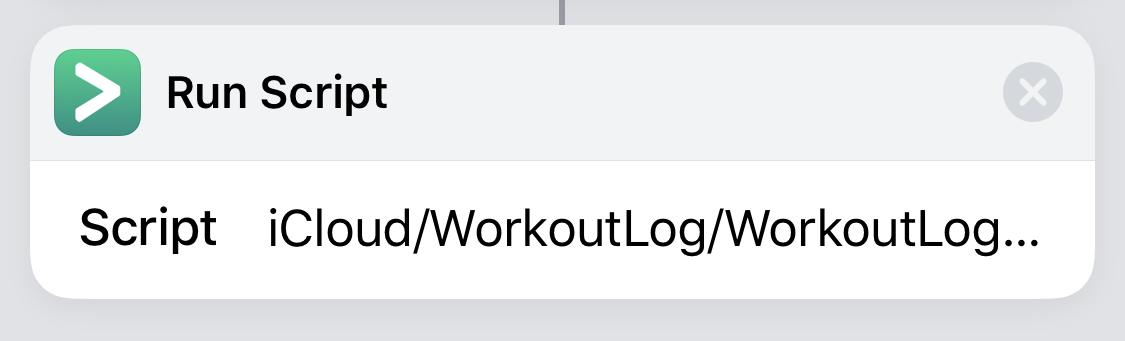 Shortcuts can't find Pythonista script on